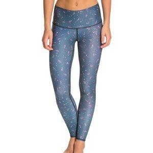 Teeki blue Pixie Rose leggings, medium